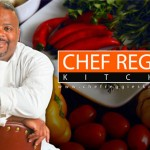 CHEF REGGIE'S KITCHEN: Cajun Spiced Cabbage w/ Mango & Shrimp Ceviche